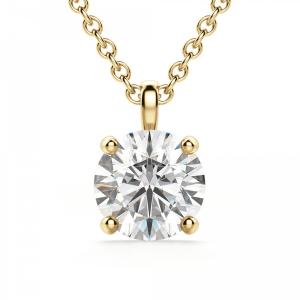 Кулон из золота с бриллиантон