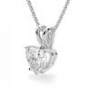 Кулон из золота с бриллиантом сердце, Изображение 2
