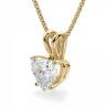 Кулон с бриллиантом сердце, Изображение 2
