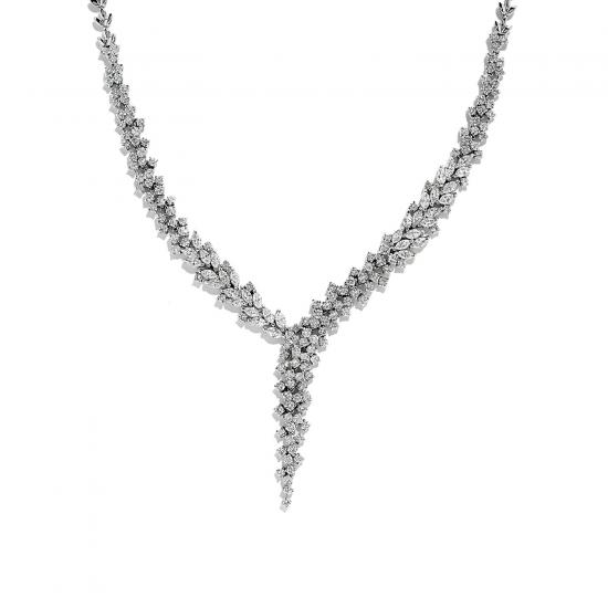 Колье с бриллиантами 7 карат, Больше Изображение 1