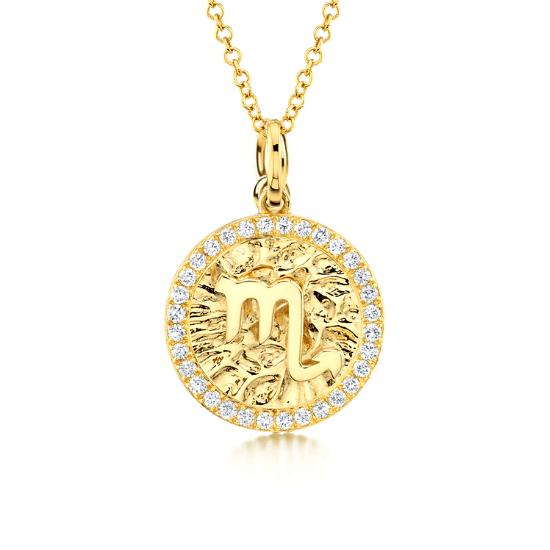 Медальон знак Зодиака - Дева, Больше Изображение 1