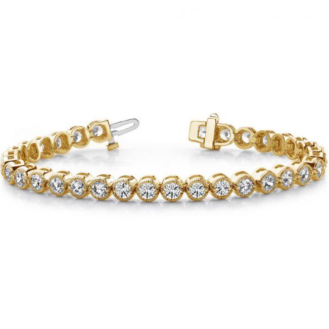 Бриллиантовый браслет