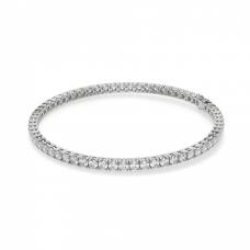 Теннисный браслет с бриллиантами 3,72 карата