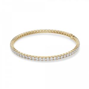 Теннисный браслет из золота с бриллиантами 3,72 кт
