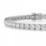 Теннисный браслет с бриллиантами 5,72 карата, Изображение 2