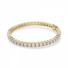 Теннисный браслет из золота с бриллиантами 9,45 карата