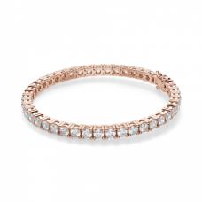 Теннисный браслет с бриллиантами 9,45 карата