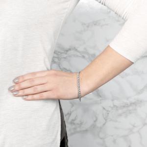 Теннисный браслет с бриллиантами 9.45 карата