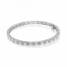 Теннисный браслет с бриллиантами Радиант