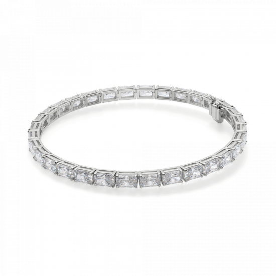Теннисный браслет с бриллиантами Радиант, Больше Изображение 1