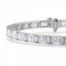 Теннисный браслет с бриллиантами Радиант, Изображение 2