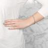 Теннисный браслет с бриллиантами Радиант, Изображение 3