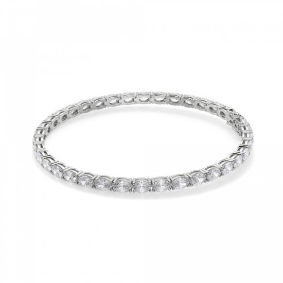Теннисный браслет с бриллиантами овал, Больше Изображение 1