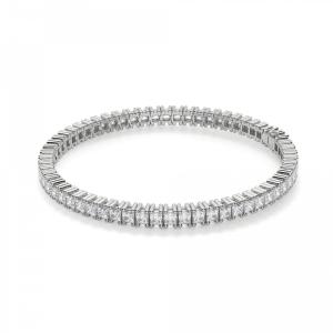 Теннисный браслет с квадратными бриллиантами