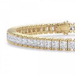 Теннисный браслет с бриллиантами 6.20 карата