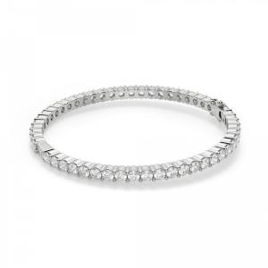 Жесткий теннисный браслет с бриллиантами