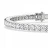 Жесткий теннисный браслет с бриллиантами, Изображение 2