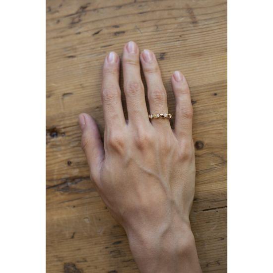 Кольцо Ruban с бриллиантами 0.64 кт,  Больше Изображение 2