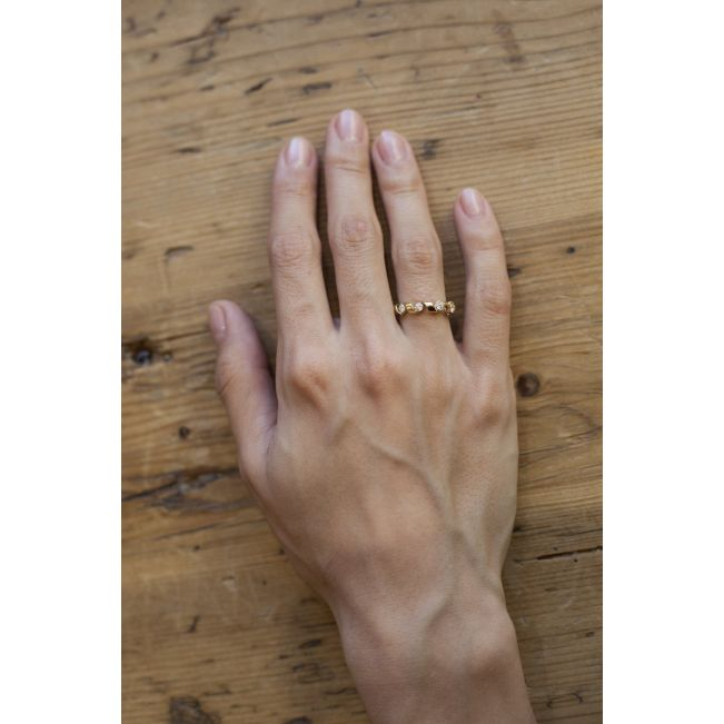 Кольцо Ruban с бриллиантами 0.64 кт