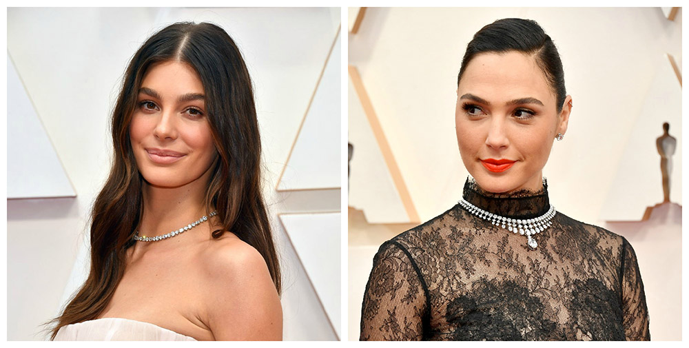 Камила Морроне и Галь Гадо на церемонии Оскар 2020, журнал PIERRE